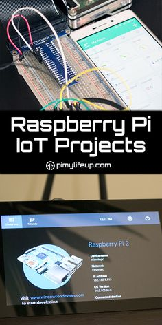 The Raspberry Pi is a great device for when it come to performing IoT tasks. Connect some sensors and you can quickly get your own smart device up and running.
