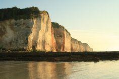 Coucher de soleil sur la plage de Saint-Pierre-en-Port