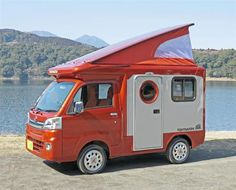 バンショップミカミの軽キャンピングカー「テントむし」