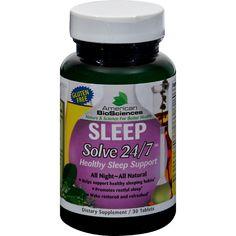 American Bio-science Sleep Solve 24-7 - 30 Ct