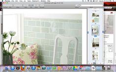 Winchester sudbury gloss half tile for master shower