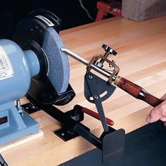Buy Vari-Grind Attachment at Japan Woodworker Japanese Woodworking Tools, Woodworking Square, Woodworking For Kids, Woodworking Books, Woodworking Workshop, Teds Woodworking, Wood Turning Lathe, Wood Lathe, Japan Woodworker