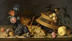 "Still Life of Flowers, Fruit, Shells, and Insects by Balthasar van der Ast, 1629, p.498 (example; ""and two loaned van der Asts"")"