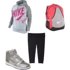 Nike Day At Schoool...not digging the shoes though.