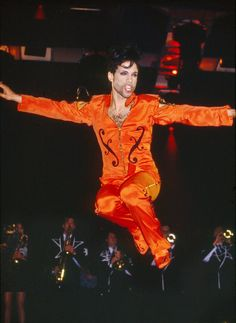 Image result for prince in orange outfit