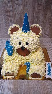 Torty ciasta i ciasteczka Joli: Miś Dawida