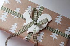 UKKONOOA: Gift tag made of cornstarch & baking soda dough