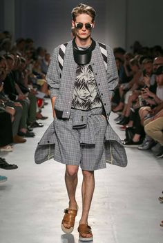 MSGM Spring 2015 Menswear - Collection - Gallery - Style.com