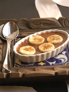 Banoffee & Peanut Butter Creme Brulee