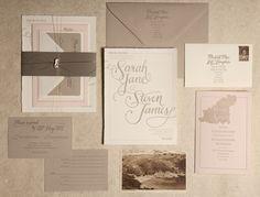 Wedding Invitation Designers –Ladyfingers Letterpress   Oh So Beautiful Paper