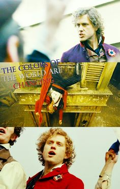 Loved Aaron Tveit as Enjolras. Favourite character and storyline, and his death was, for me, the best and saddest, most touching moment. From Gossip Girl to this. Amazeballs.