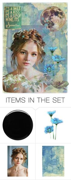 """""""*a sip of wine it's summertime*       (it's a smile, it's a kiss)"""" by karineg ❤ liked on Polyvore featuring art"""