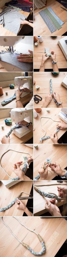 Naszyjnik DIY  - zrób go sama