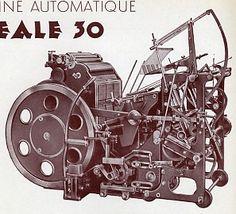 Ideale 30 - [source : Bulletin officiel de l'union syndicale des maîtres imprimeurs]