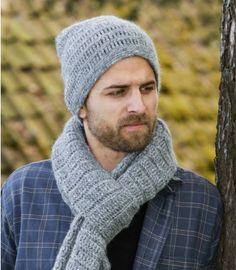 New Crochet Free Scarf Drops Design Ideas Crochet Mens Scarf, Crochet Beanie, Crochet Scarves, Crochet Shawl, Bonnet Crochet, Crochet Gloves, Pull Crochet, Free Crochet, Knitting Patterns Free