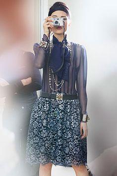 Chanel Fall 2015 Backstage #PFW
