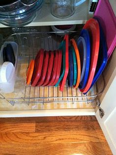 Simply Homemade kitchen organizing