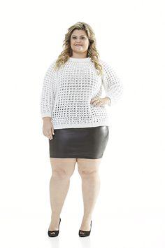 Receitas Círculo - Plus Size - Blusa com Strass