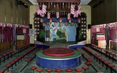 Abandoned strip club in northern Okayama, Japan. The place is like a time capsule from the 1970s.