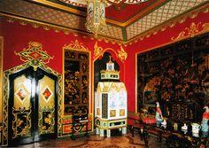 chinese lobby, peterhof