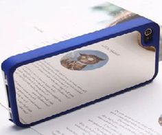 Mirror iPhone Case Blue  iPhone Case with a by MirroriPhoneCase,