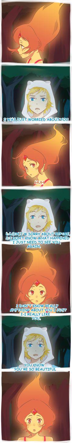 Adventure Time Finn and Flame Princess