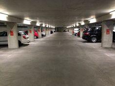 Parkeergarages met LED uitgevoerd