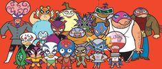 """A description of tropes appearing in ¡Mucha Lucha! (roughly translated to """"A Lot of Wrestling"""") was a Flash-animated show that ran on … Cartoon Cartoon, Cartoon Crazy, Cartoon Characters, Best Cartoons Ever, 90s Cartoons, Kids Tv, 90s Kids, 90s Childhood, Childhood Memories"""