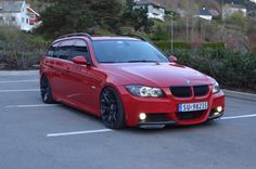 bimmers: Properly done BMW 3 Series Touring (E91) #wagonlove