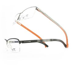 LIGHTEC CARBON4 - a rubber front on a steel core (available in additional colors) #eyewear #fashion #accessories