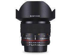 Samyang 14mm f/2.8 IF ED UMC Aspherical Canon / Sony E / Sony A