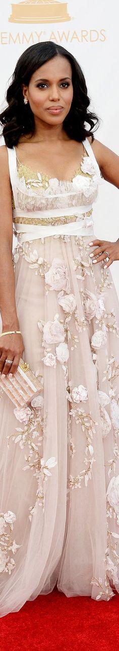 Kerry Washington in  Marchesa ~ Fashion Favorites