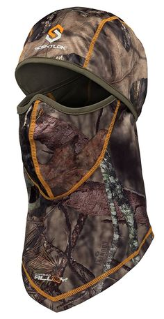 Scent-Lok Men's Savanna Lightweight Headcover, Mossy Oak Country, One Size Tactical Wear, Tactical Clothing, Hunting Clothes, Hunting Gear, Outdoor Apparel, Outdoor Gear, Mossy Oak, Balaclava, Hats For Men