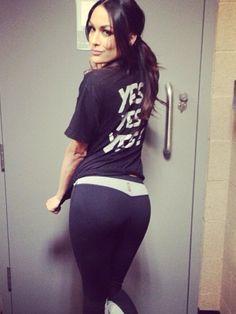 Aj Lee In Yoga Pants