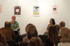 L'autrice Serena Manfrè e il performer Marcello Albanesi alla libreria Pangea di Padova - 14 settembre 2013
