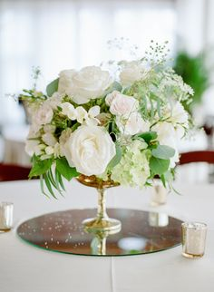 16 best white rose centerpieces images wedding centerpieces rh pinterest com white rose centerpiece ideas simple white rose centerpieces