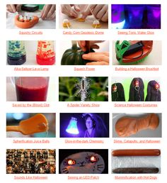 """Halloween STEM Roundup"": Connect student Trick-or-Treat excitement with hands-on #science. [Source: Science Buddies, http://www.sciencebuddies.org/blog/2015/10/halloween-stem-roundup.php?from=Pinterest] #STEM #HalloweenScience #scienceproject"
