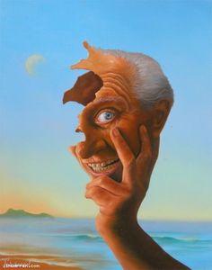 Jim Warren Studios Fine Art #jimwarren #surrealist #surrealism