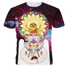Sondirane New Fashion Women Men Adventure Time In Funny Print Casual T  Shirt Summer Short Sleeve Hip Hop Tops Tees Clothing 89b564246