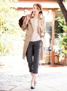 袖を通せばきりっとキマるスタイリッシュなシルエット | ファッション コーディネート | with online on ウーマンエキサイト