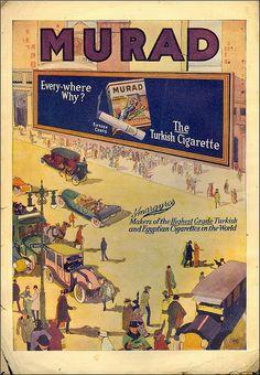 Murad cigarettes ads