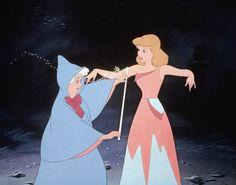 Cinderella, pre-transformation. Disney version, 1950.