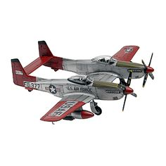 Revell-Monogram Monogram 1:24 Scale Twin Mustang F-82G Plastic Model Kit - Toys & Games - Vehicles & Remote Control Toys - Models #fab15