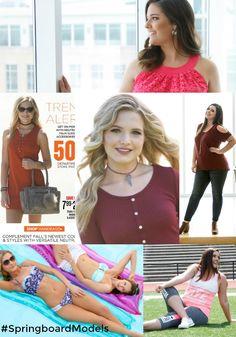 Springboard Models for Gordmans. Amanda Wubbenhorst | Emerie Gifford  Follow us on IG: #Springboardgirls