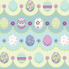 Painted_Eggs fabric by jillbyers on Spoonflower - custom fabric Paper Scrapbook, Scrapbooking, Easter Backgrounds, Easter Wallpaper, Easter Printables, Coloring Easter Eggs, Easter Crafts, Easter Art, Cellphone Wallpaper