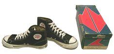 Vintage Bata Bullets Basketball Shoes, ca. 1970 #batashoes
