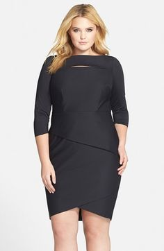 Alex Evenings Sheath Dress (Plus Size) available at #Nordstrom