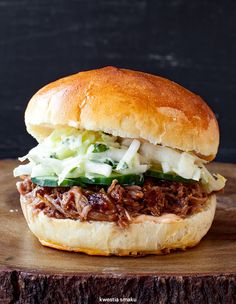 Pulled pork sandwich - kanapka z pulled pork