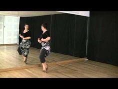 Técnica de baile flamenco  nivel básico  Vueltas de pecho 46e934fb28a