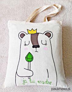 hand painted bag / kubek ręcznie malowany https://www.facebook.com/Cudawianki
